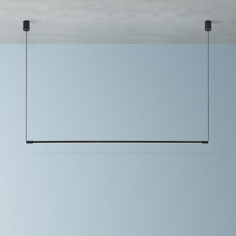 US $38.74 30% OFF Modern LED Long Tube Lamp Pendan