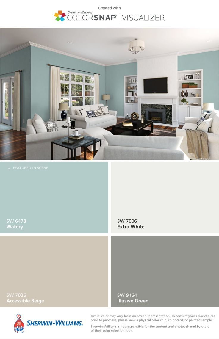 Watery Color Color Watery Genel Living Room Paint Color Scheme Living Room Paint Room Colors #paint #color #schemes #living #room