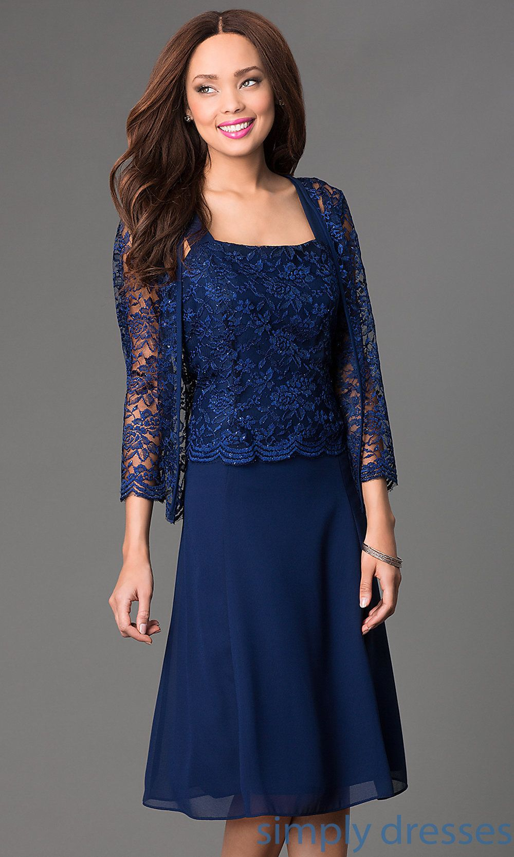 Sally fashion kneelength lace dress with jacket pinterest lace