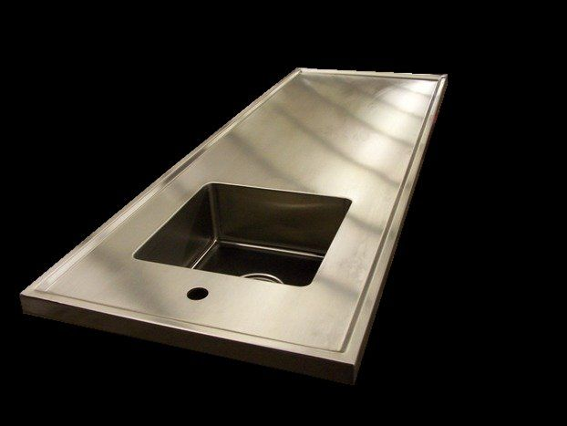 S 14 Stainless Steel Countertop Island Marine Edge For The Island