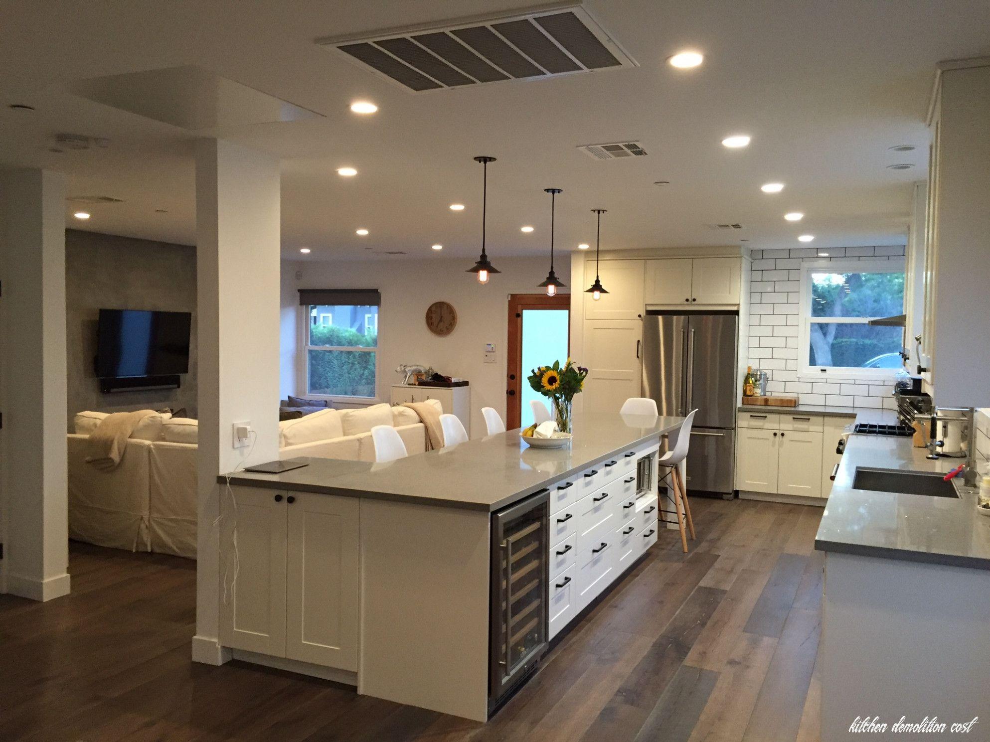 Kitchen Demolition Cost In 2020 Cheap Kitchen Remodel Budget Kitchen Remodel Kitchen Renovation Cost