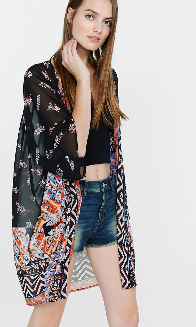 d1a98b9bff Floral Kimono Tunic