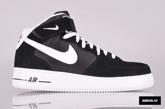 Nike Air Force 1 Mi Mens Blazer Blanc