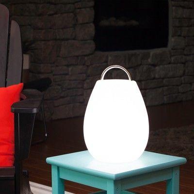 Allsop Glow 12 6 Wander Outdoor Table Lamp White Mooni Outdoor Table Lamps White Table Lamp Lamp