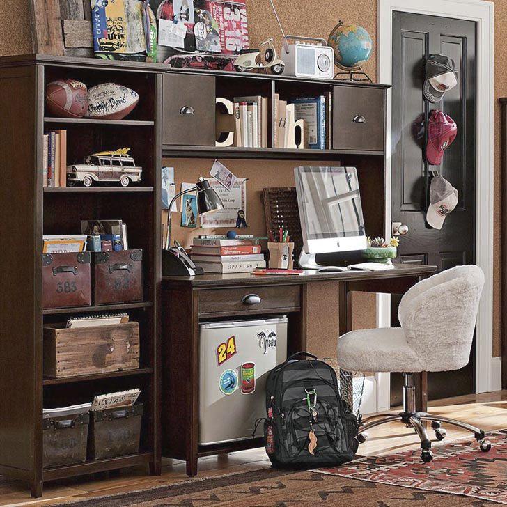 mini fridge under desk google search - Boys Desk Ideas