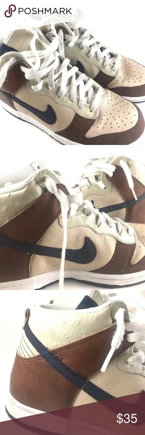 premium selection dd0d3 0700d NIKE Dunk High Premium Shoes Soft Leather NIKE Dunk High ...