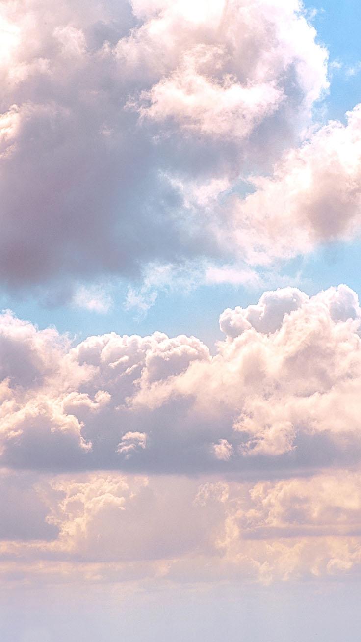 Iphone Aesthetic Cloud Wallpaper In 2020 Preppy Wallpaper