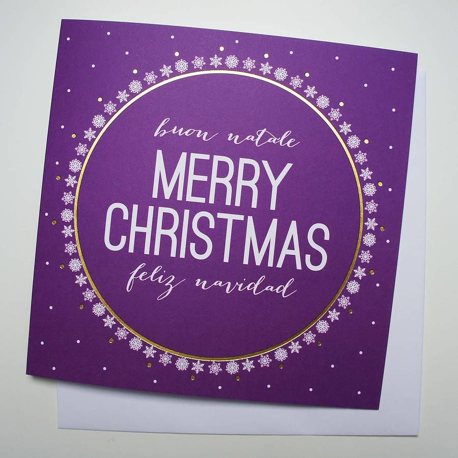 Buon natale christmas card natale christmas greeting cards and are you interested in our personalised christmas greeting card with our personalised spanish italian christmas card you need look no further kristyandbryce Images
