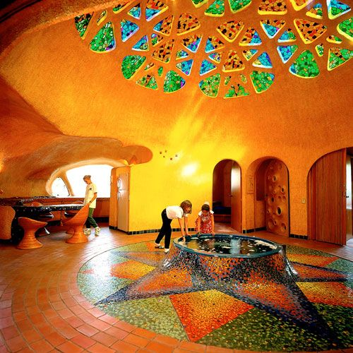 Casa flor javier senosiain javier senosiain en 2019 - Casas geodesicas ...