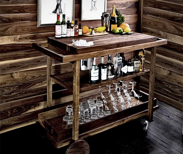 Bar Cart #1 | The Den | Pinterest | Bar carts and Bar