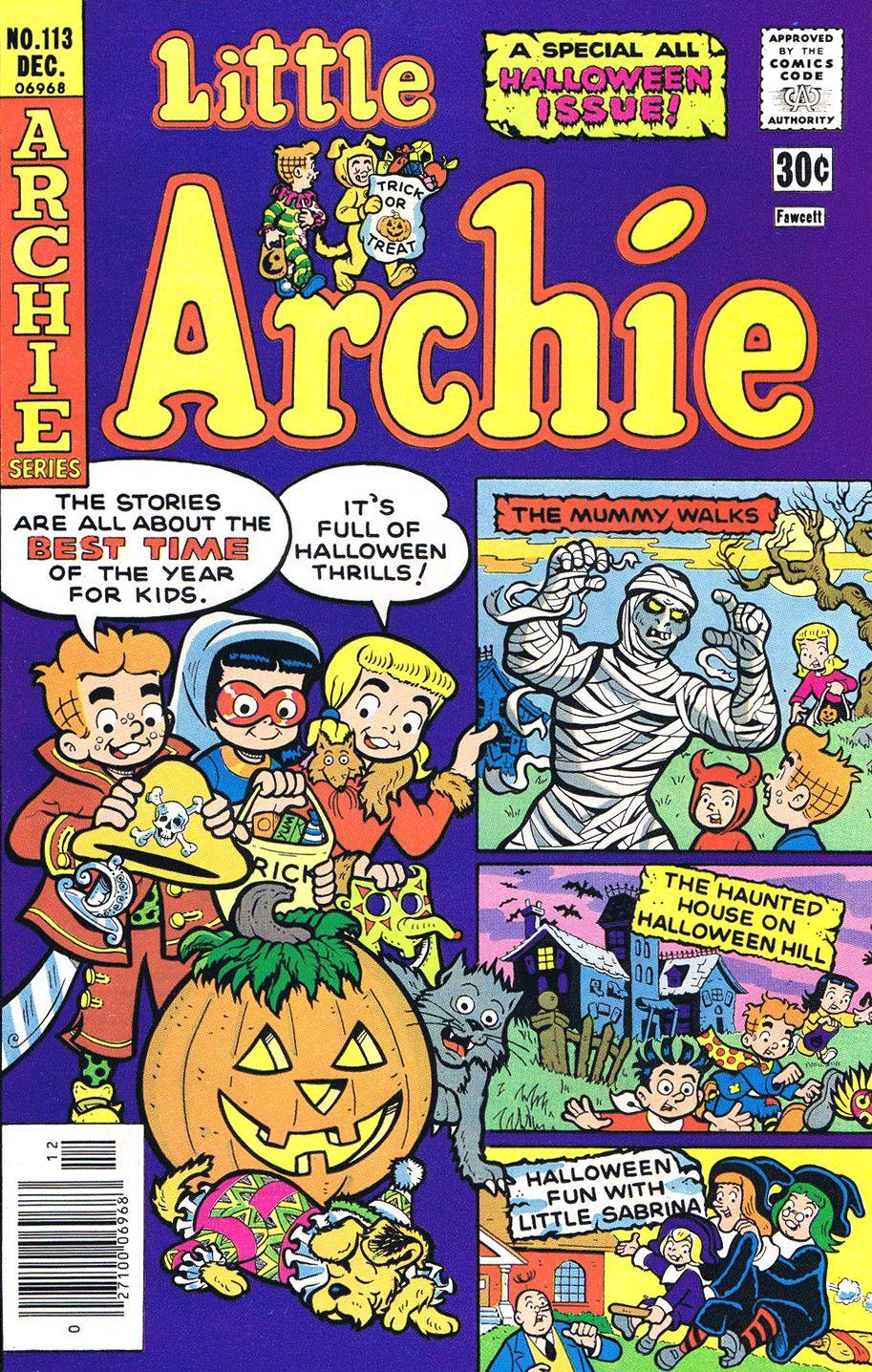 Little Archie #113, December 1976 #HalloweenComic