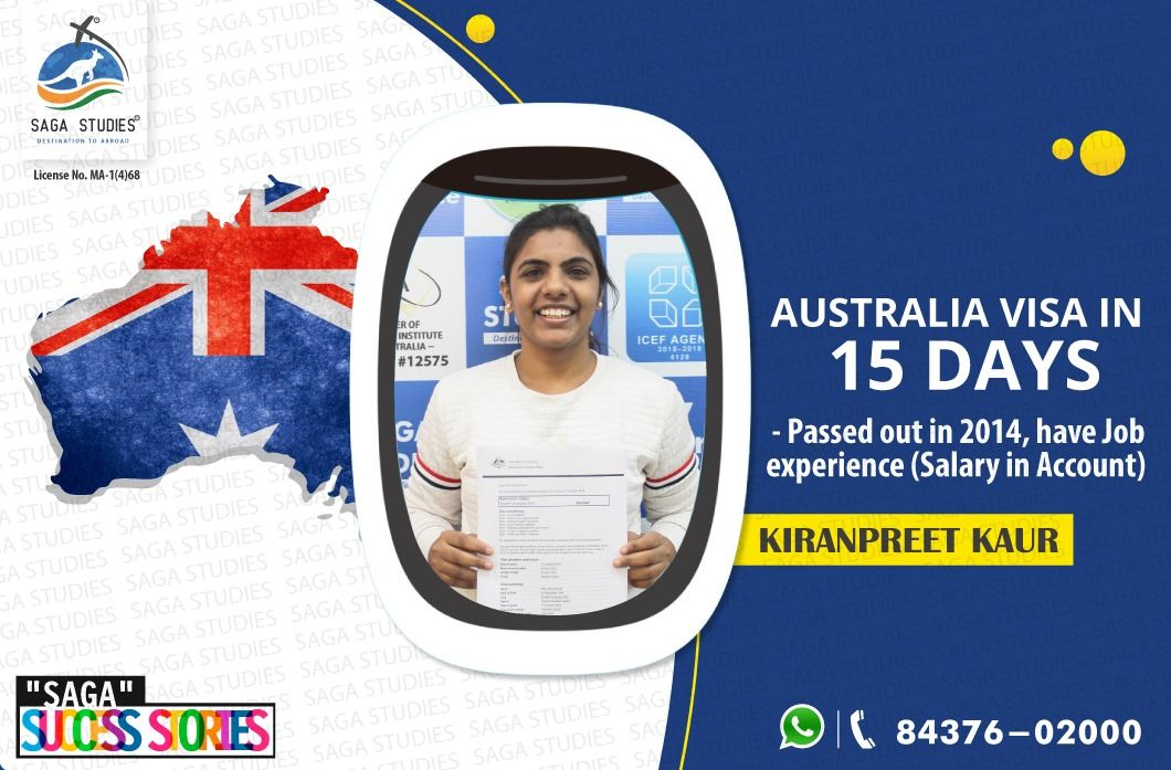 Australia visa in 15 days we proudly share another