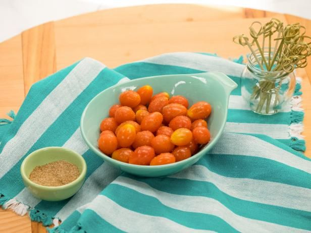 Bloody mary tomatoes recipe food recipes and snacks appetizer skewers get bloody mary tomatoes recipe from food network forumfinder Gallery
