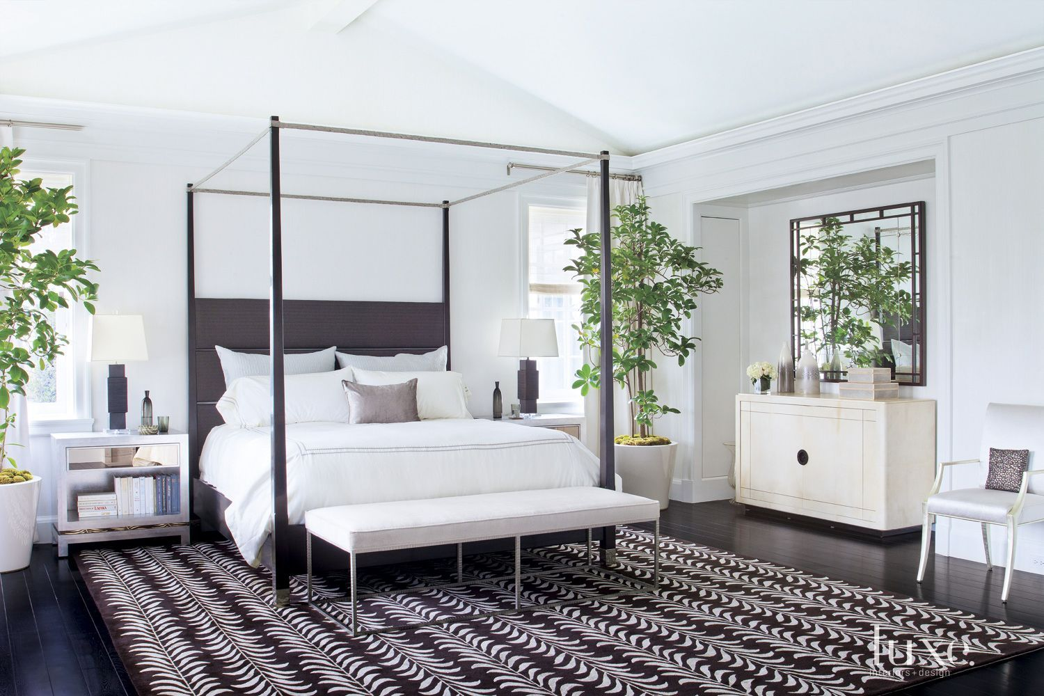 Designs By Sundown White Master Bedroom Black Canopy Beds