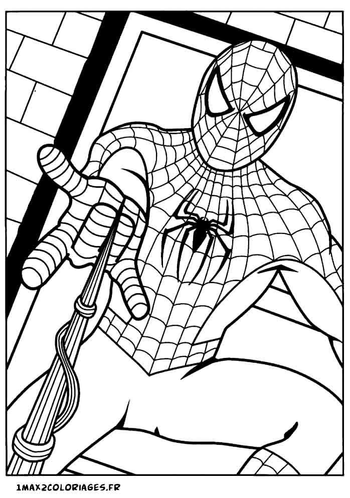 Dessin Spiderman Facile