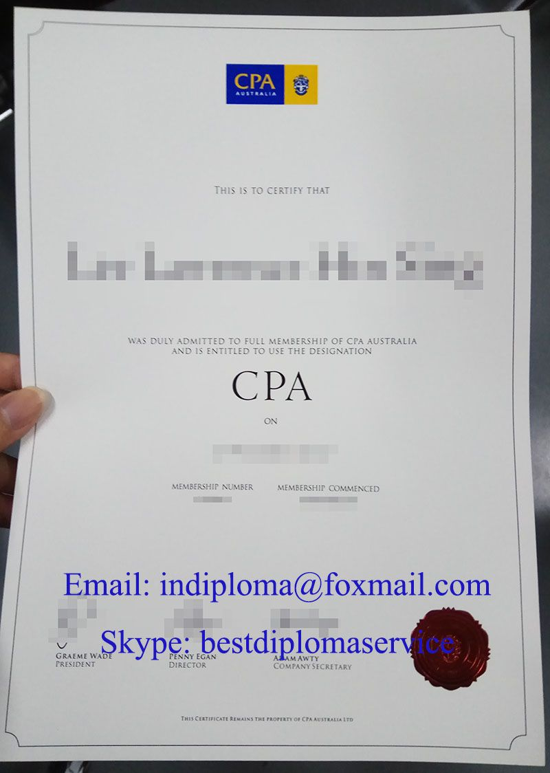 How To Get A Cpa Certificate In Australia Buy Fake Cpa Australia