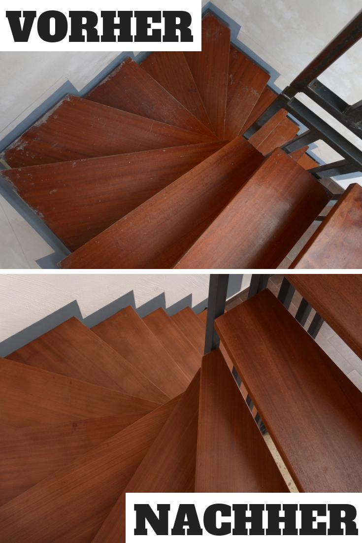 Holzstufen Selbst De Treppenstufen Renovieren Holzstufen