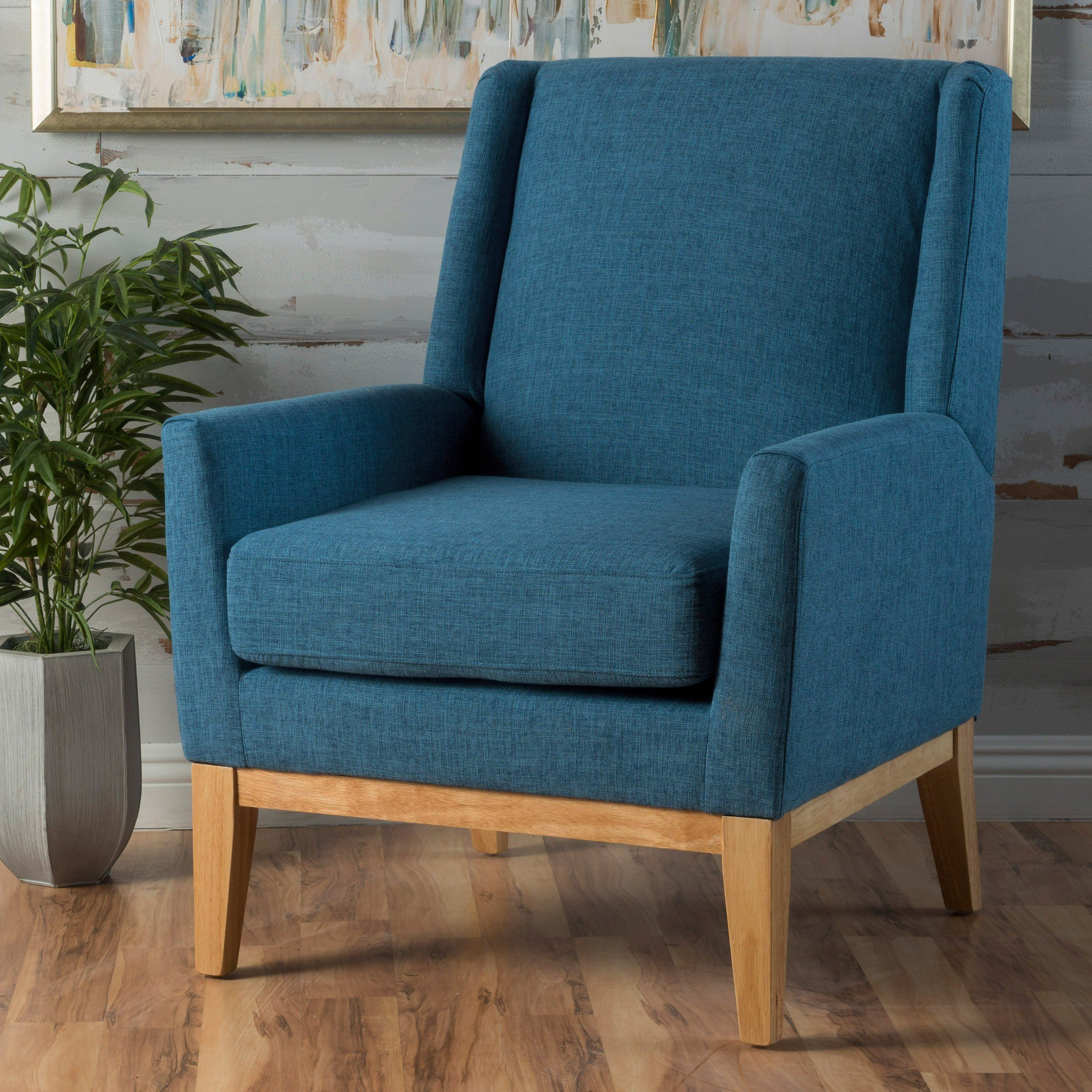 Best Archibald Mid Century Modern Fabric Accent Chair In 640 x 480
