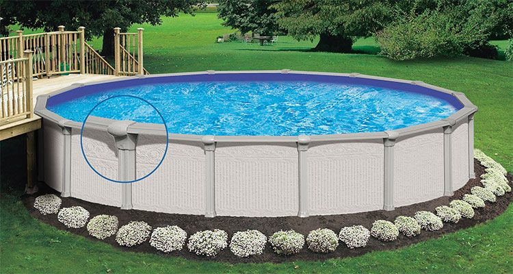 Amazing And Unique Above Ground Pool Ideas With Decks Ground