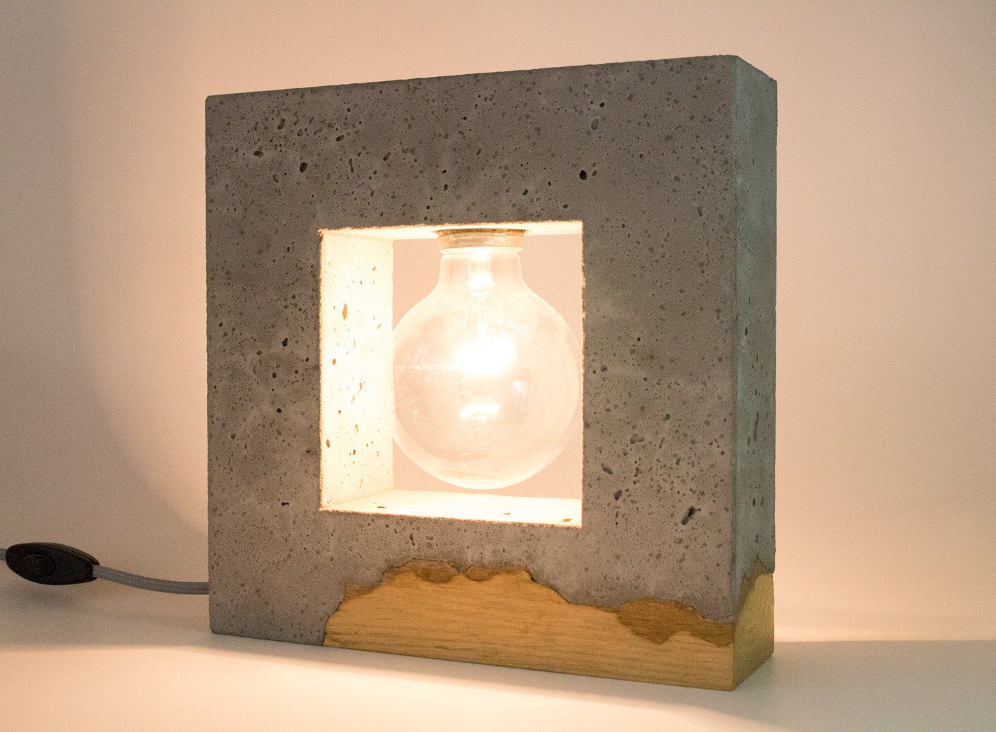 Inscrito concrete table lamp concrete and wood by ardomadesign on inscrito concrete table lamp concrete and wood by ardomadesign on etsy https geotapseo Choice Image