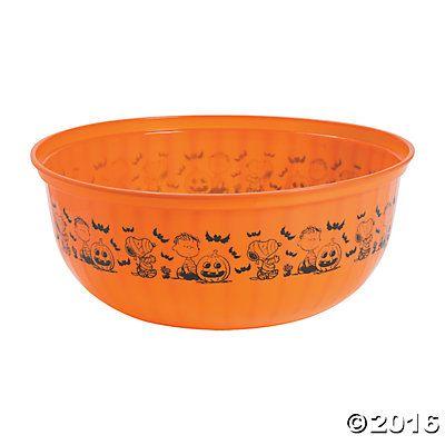 Peanuts Halloween Bowl