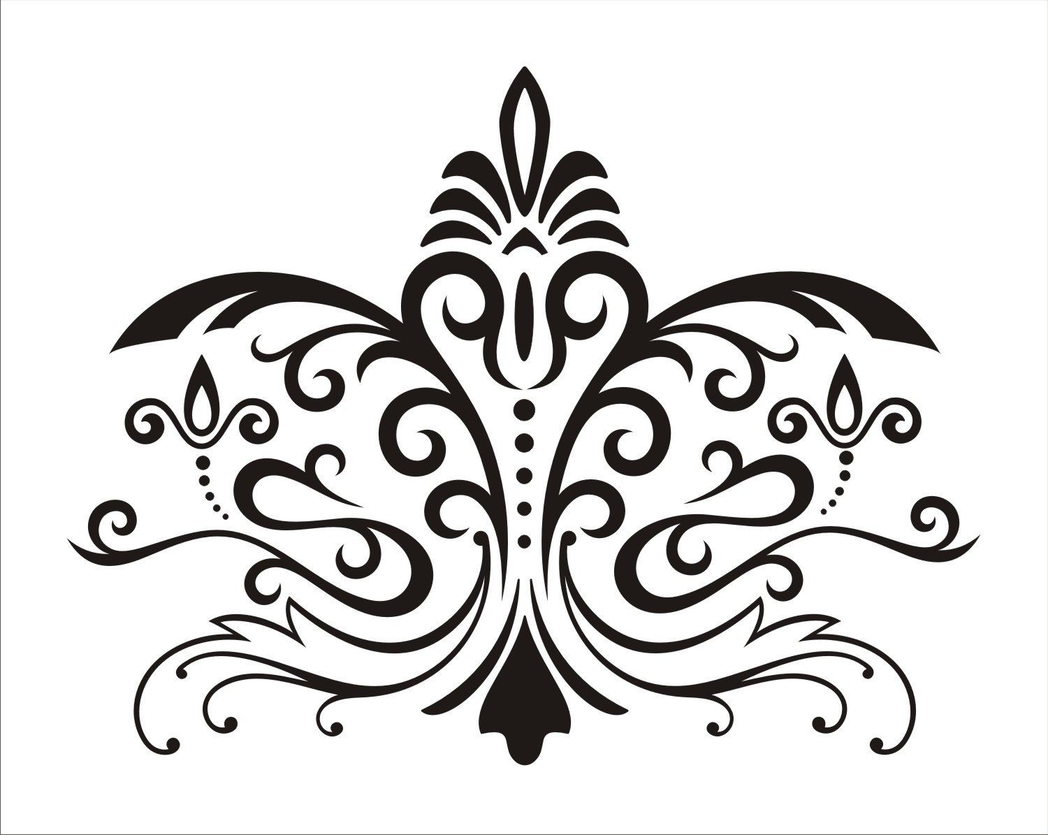 Etsy Wall Stencil Choice Image - Home Wall Decoration Ideas