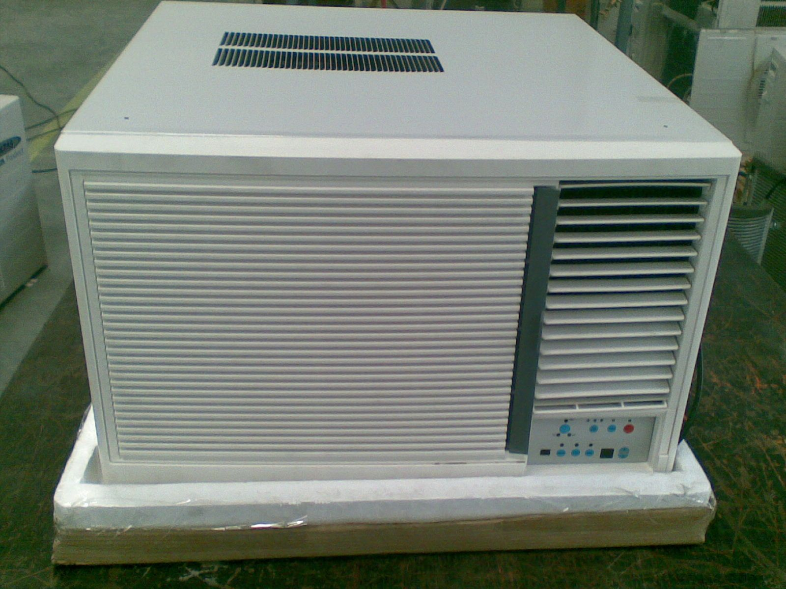 Grill Fitment Check for Window Air Conditioner. Window