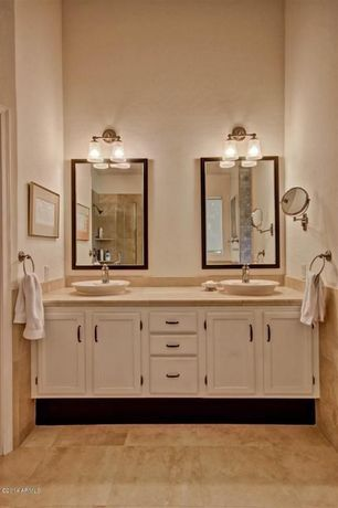 Traditional Master Bathroom with Kichler Lighting Braelyn Olde ...