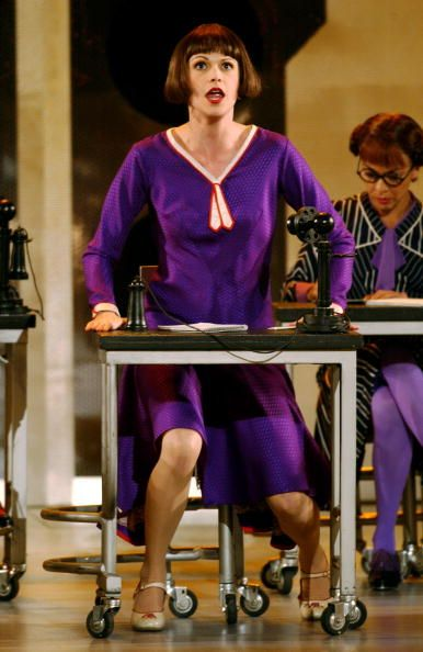 Thoroughly Thoroughly Modern Millie Sutton Foster Broadway Costumes Musical Theatre Broadway Tony Awards