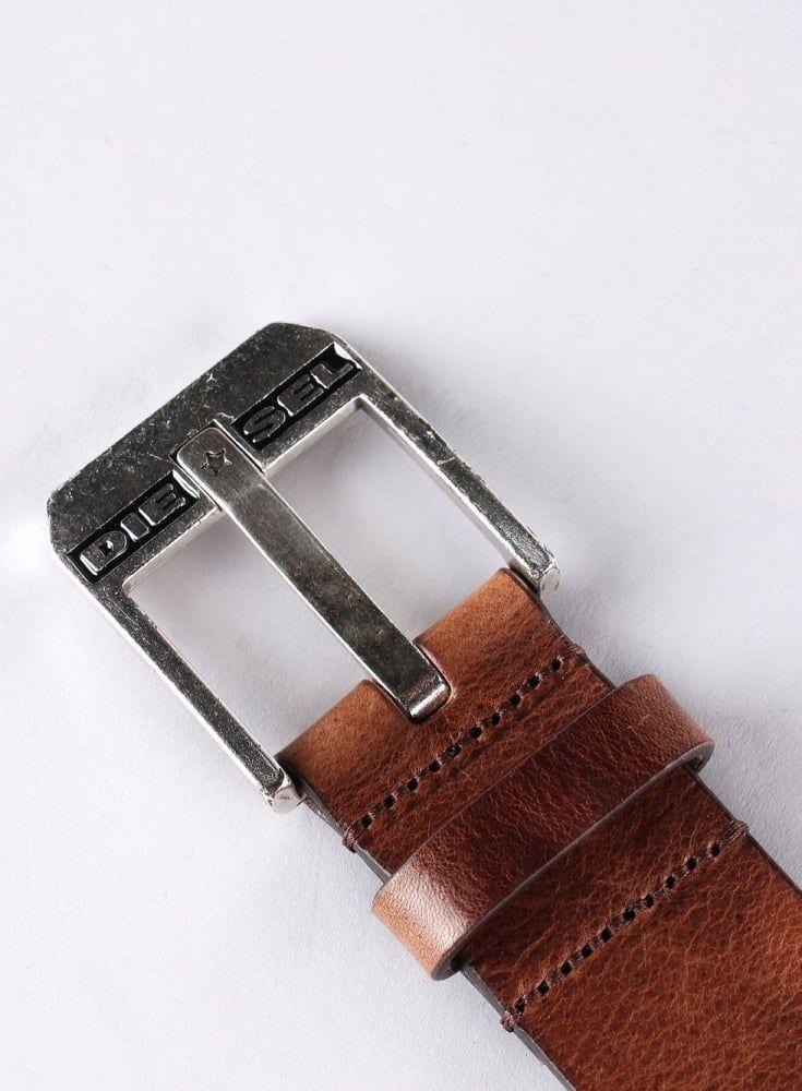 091825b9c DIESEL Bluestar Leather Belt H5900