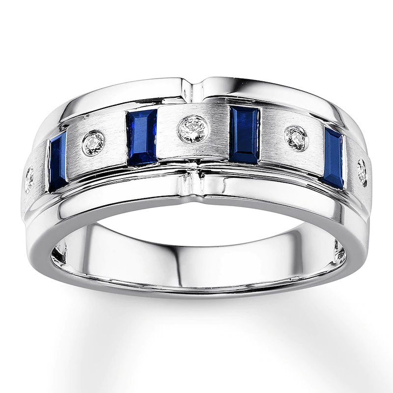 mens wedding bands sapphires Google Search in 2020