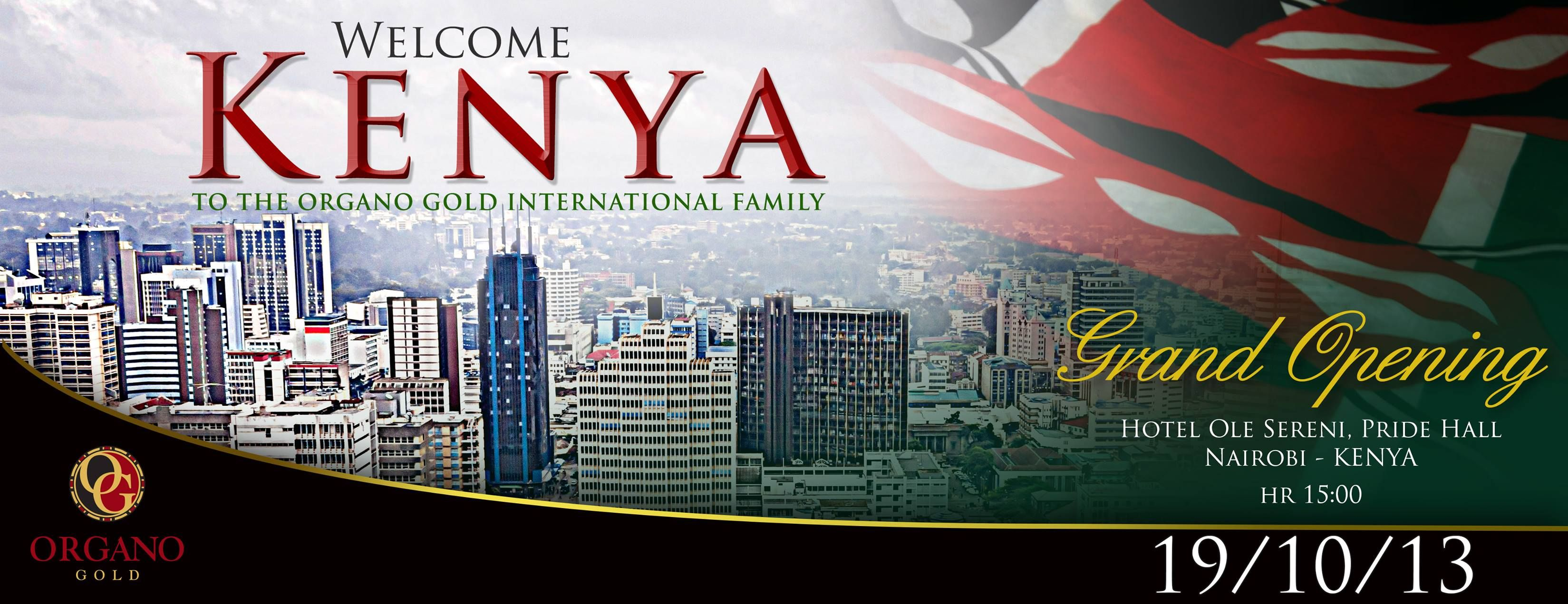 WHO DO YOU KNOW IN KENYA? The current time in Kenya is