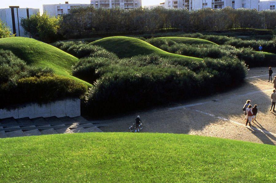 Le Parc de Maurepas-Elancourt, France. Design by Michel Corajoud ...