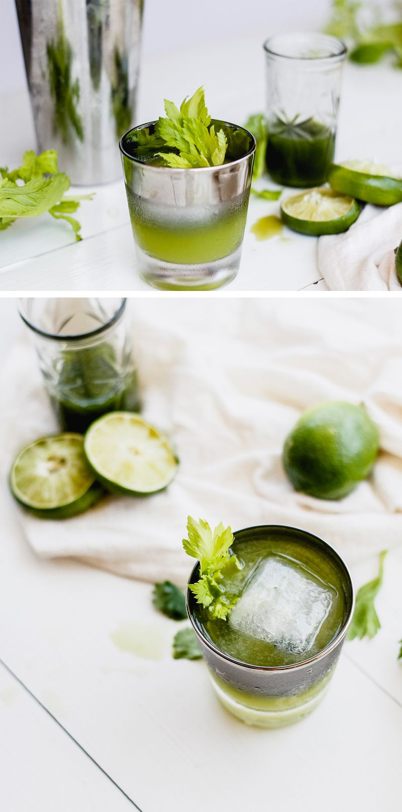 Celery & Cilantro Sipper Cocktail Recipe | Celery, Vodka and Cocktail