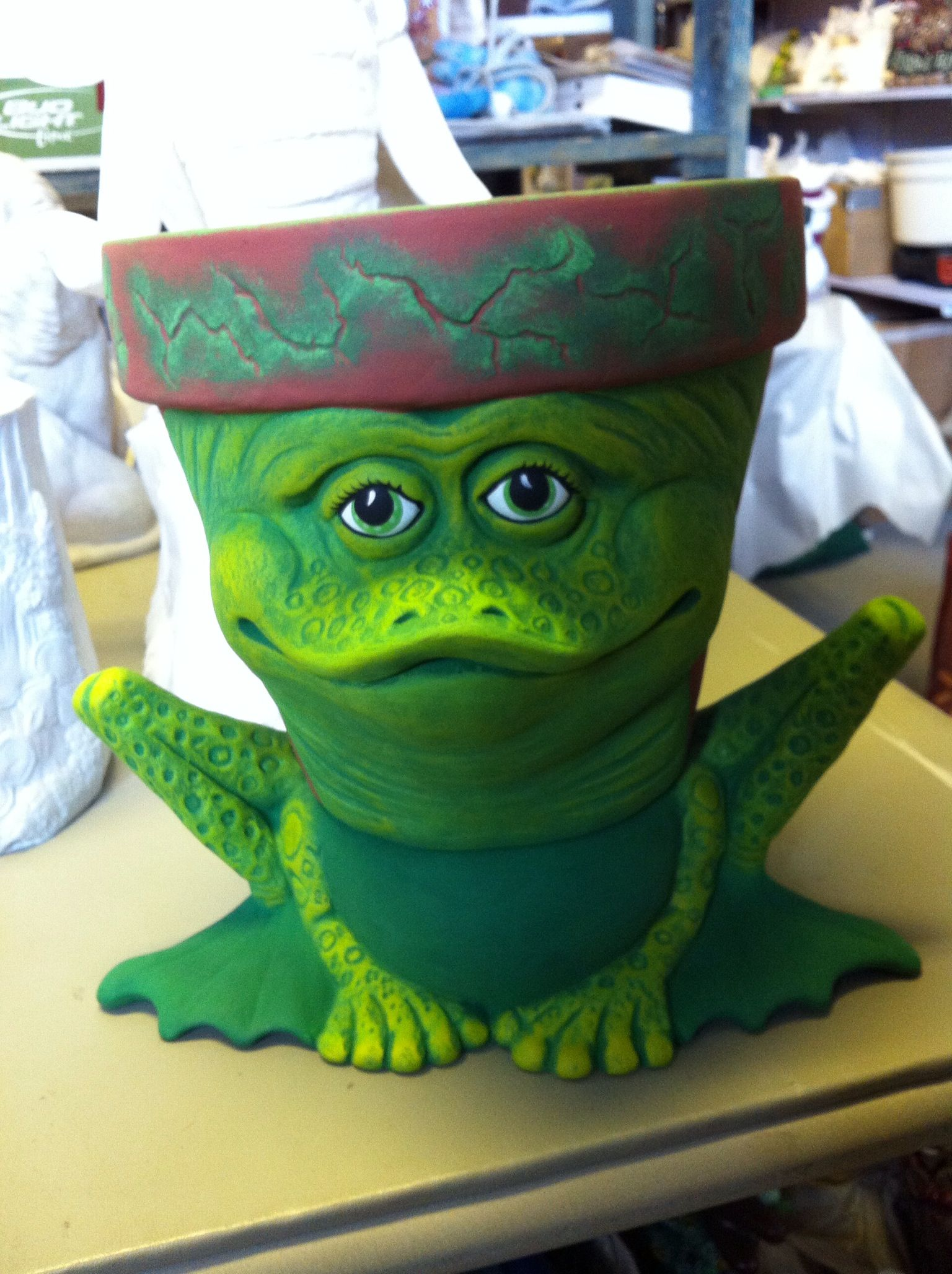 Frog Planter 35 00