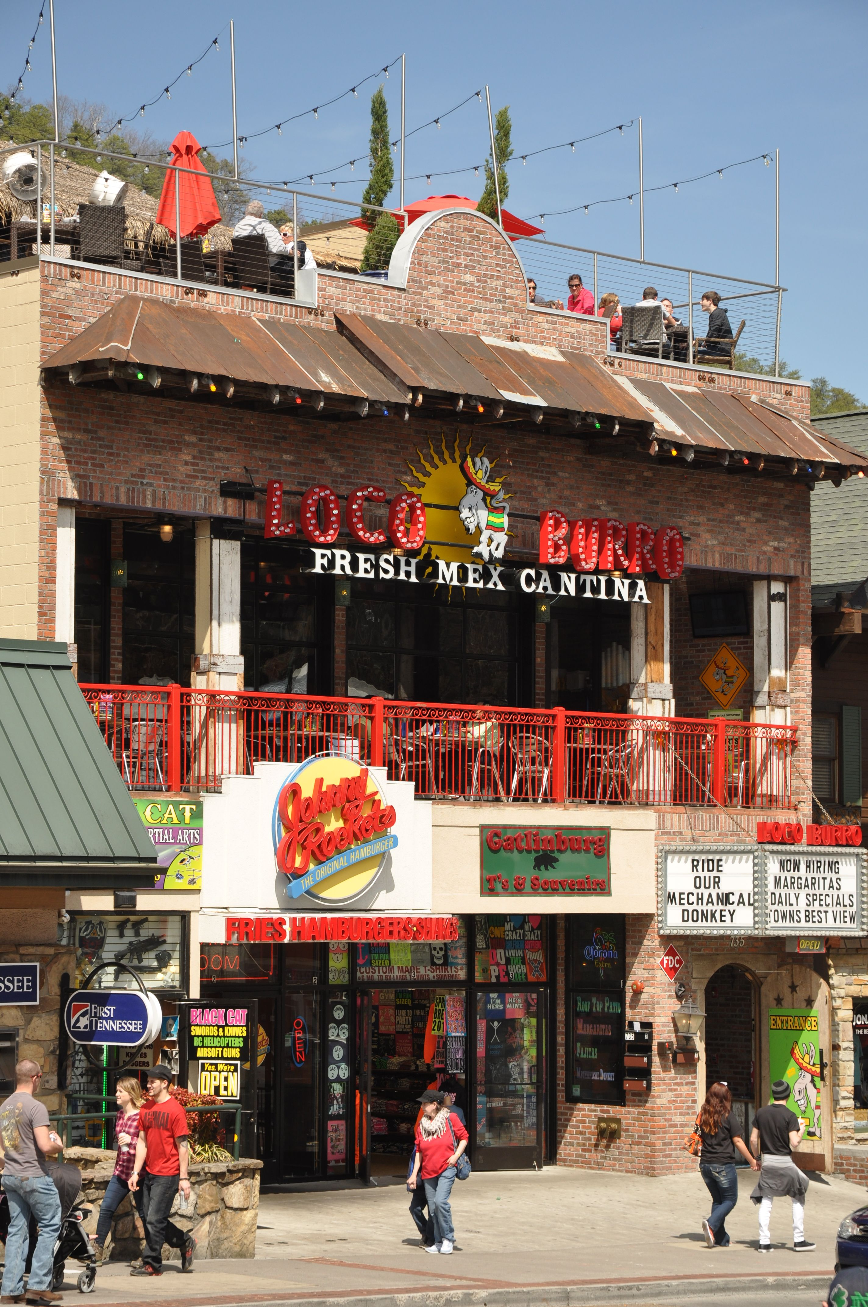 Loco Burro   Fresh Mex Cantina   Delicious Mexican Cuisine In Gatlinburg!