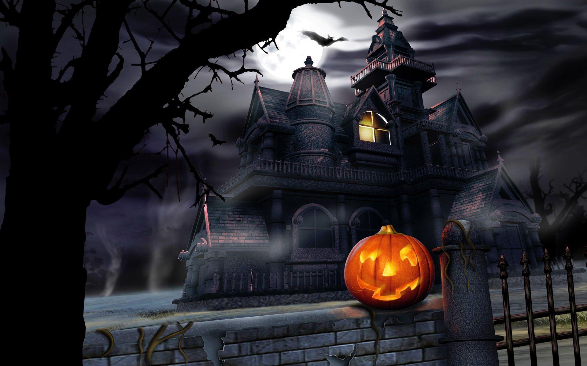 Spooky Halloween Desktop Wallpaper Halloween Pictures Halloween Wallpaper