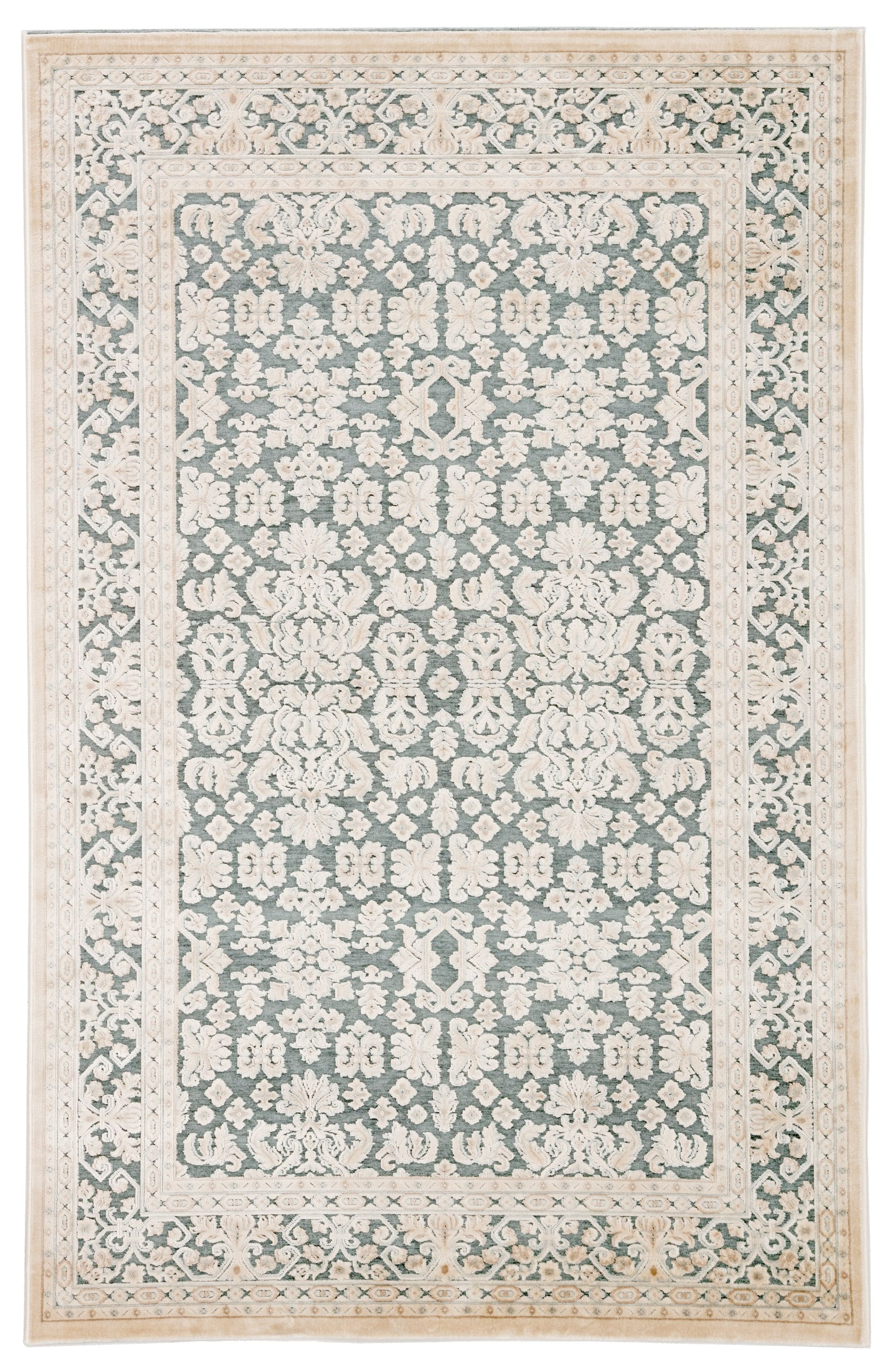 Alexander Home Luxe Fireside Antiqued Distressed Area Rug In 2020