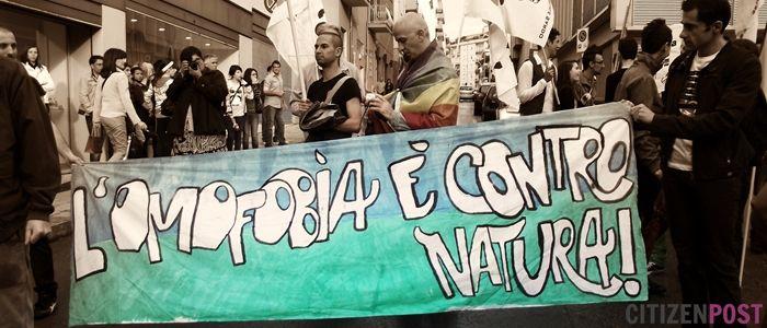 #Sassari condanna l' #omofobia e il #razzismo