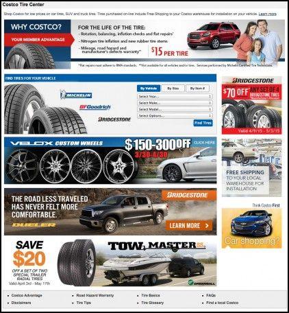 Tire Alignment Costco Wheels Tires Gallery Pinterest Tyre