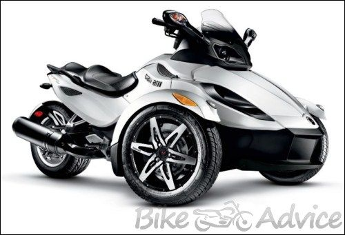 can am 3 wheel motorcycle can am spyder the three wheeled motorcycle stuff to buy. Black Bedroom Furniture Sets. Home Design Ideas
