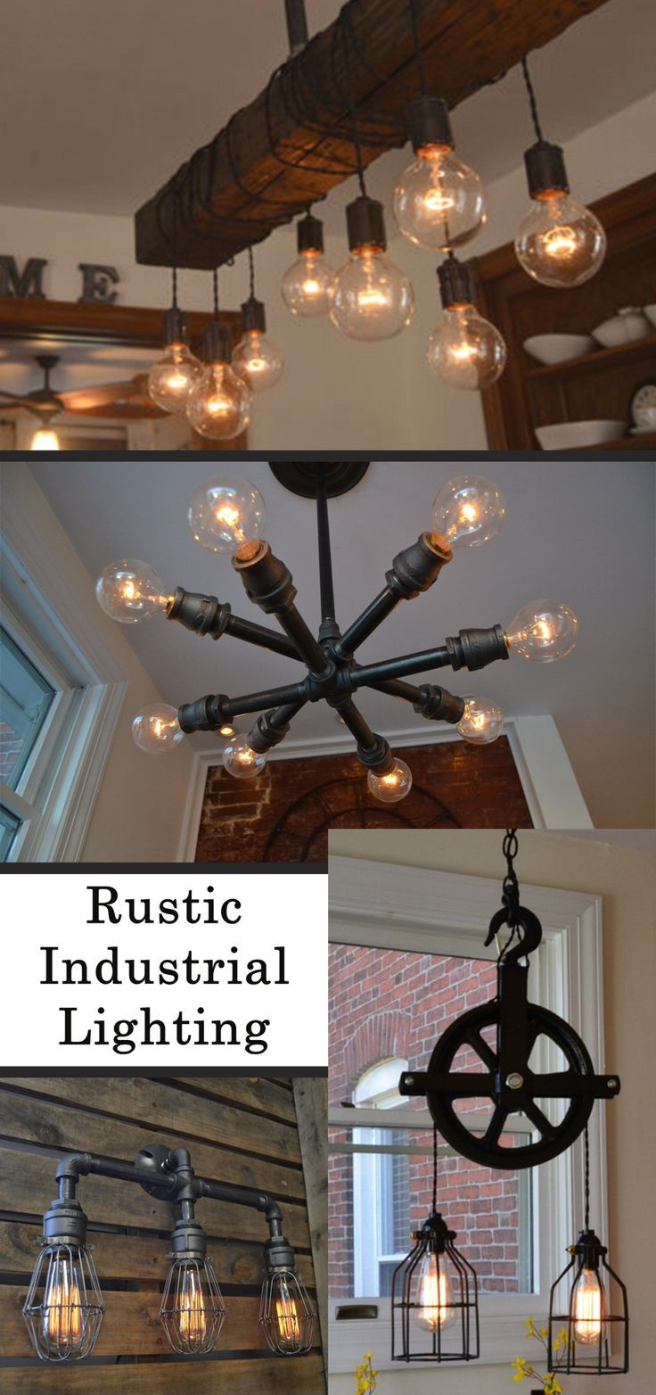 I Love The Industrial Look, And These Industrial Lighting Fixtures Are Just  Gorgeous! Our Goal Is To Create And Curate A Collection Of Unique Vintau2026