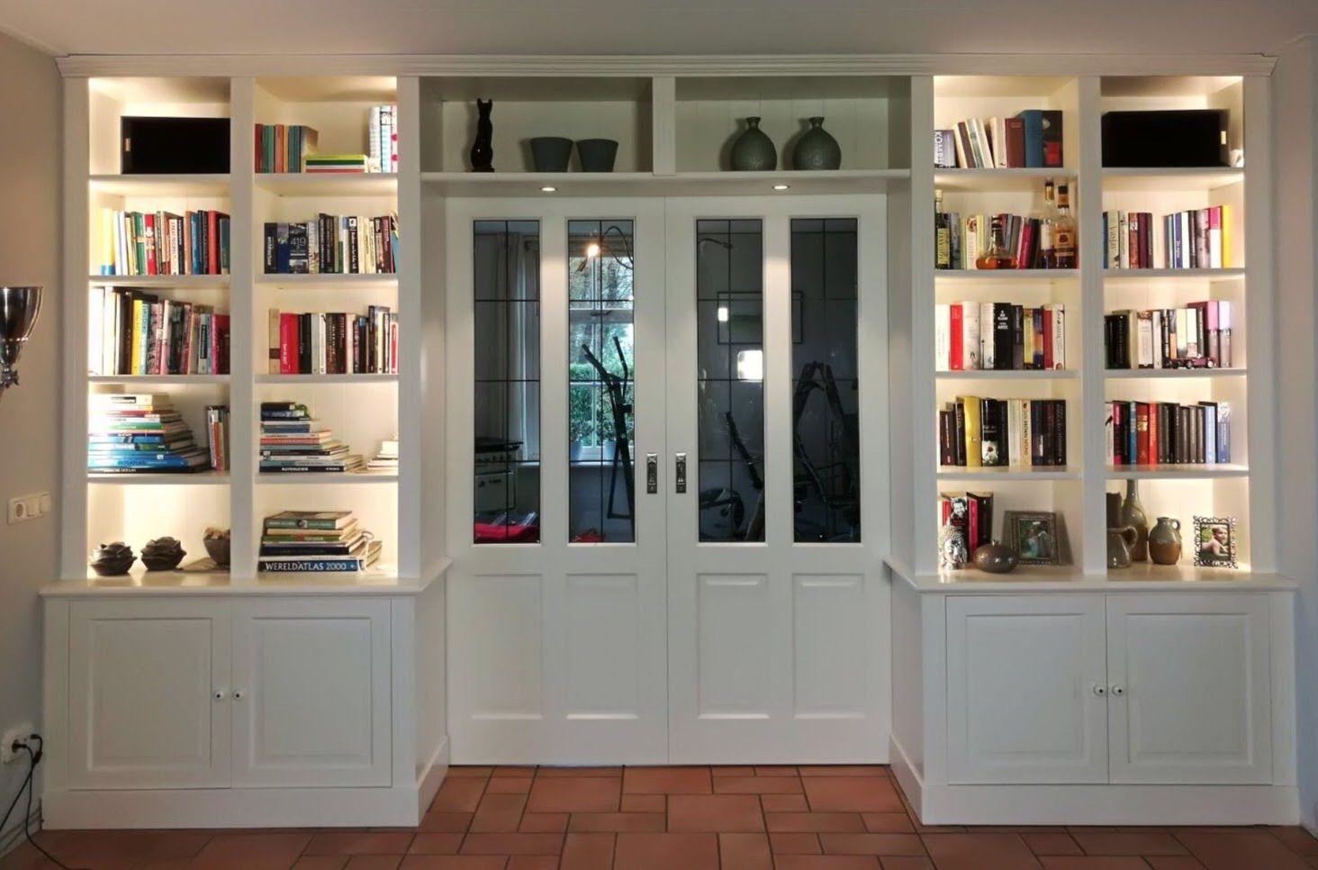 Jaren 30 | Boekenkast | Inbouwkast woonkamer | Kamer en suite | En ...