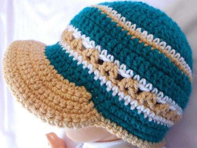 Crochet - Crosia Free Patttern Urdu, Hindi Video Tutorials: Brim Hat ...