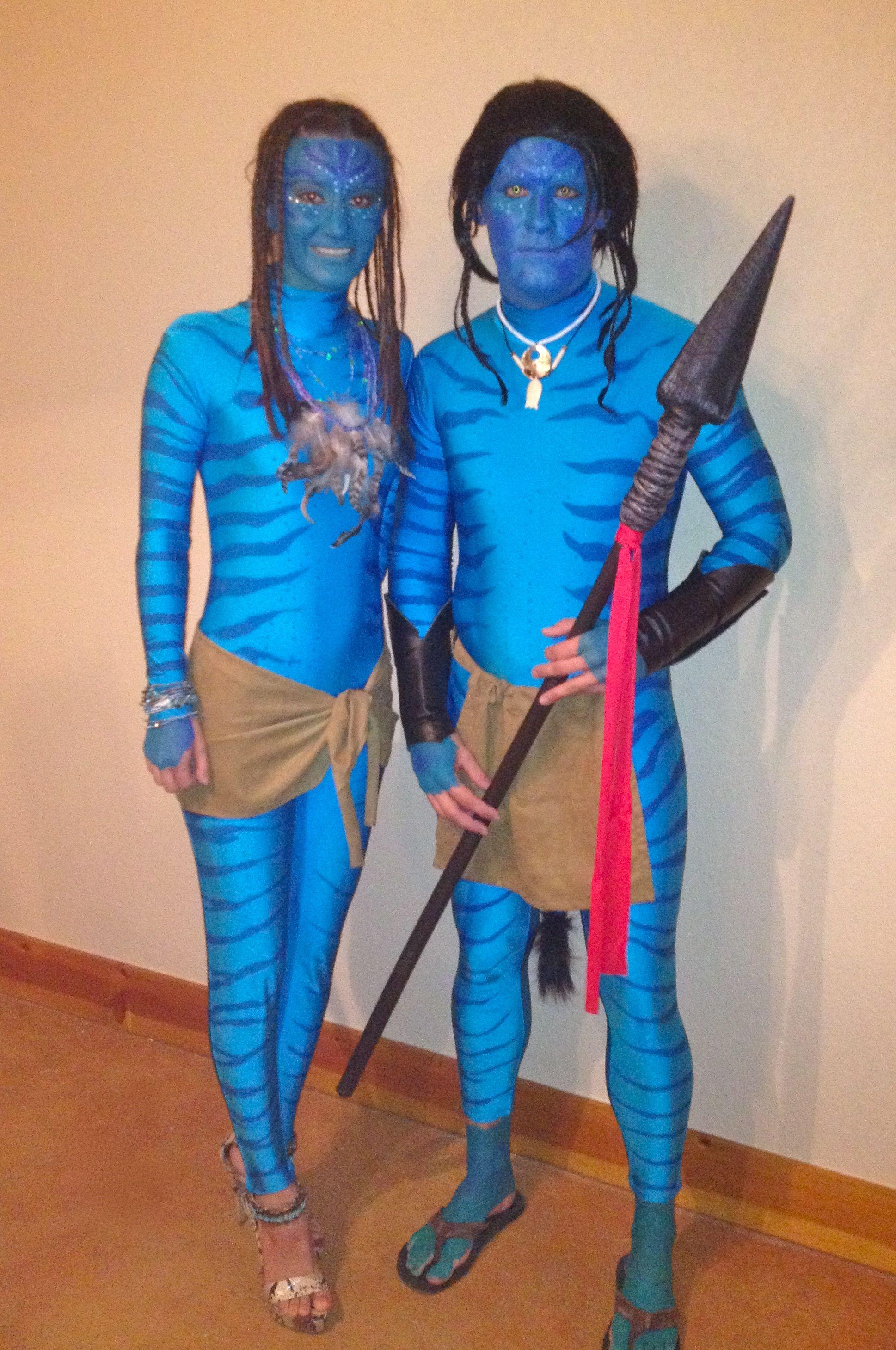 couples halloween costume avatar id es carnaval. Black Bedroom Furniture Sets. Home Design Ideas