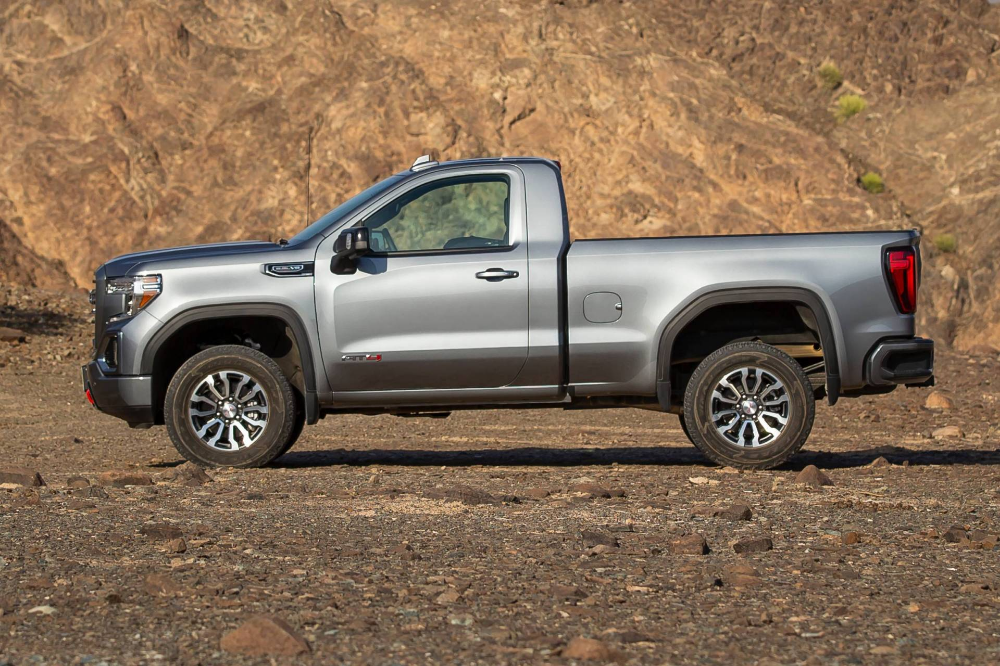 2019 Gmc Sierra 1500 At4 And Elevation Regular Cabs Not For U S Either Carscoops Regular Cab Gmc Sierra Gmc Sierra 1500