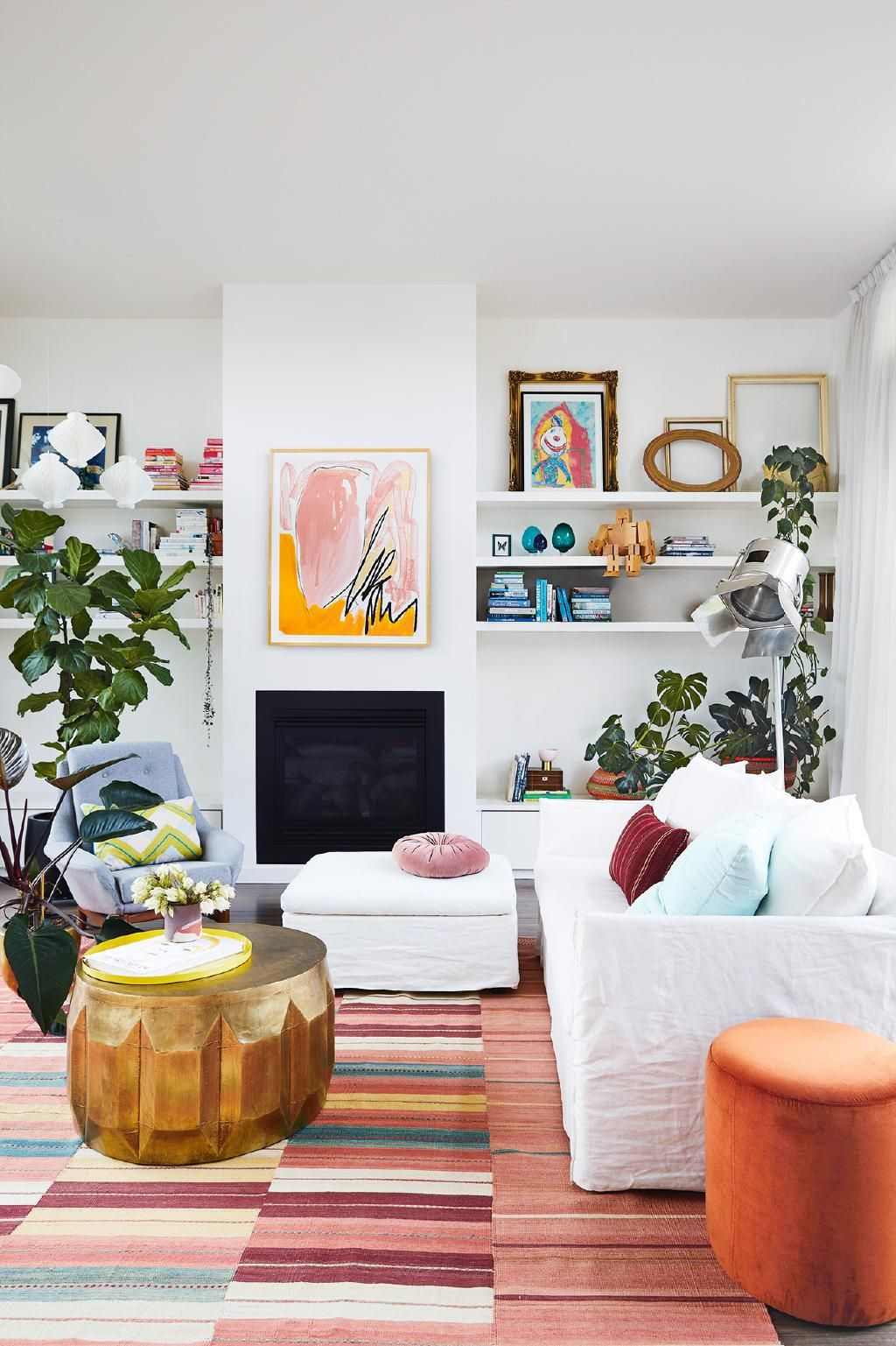 Plenty of colour and playful choices come together in this