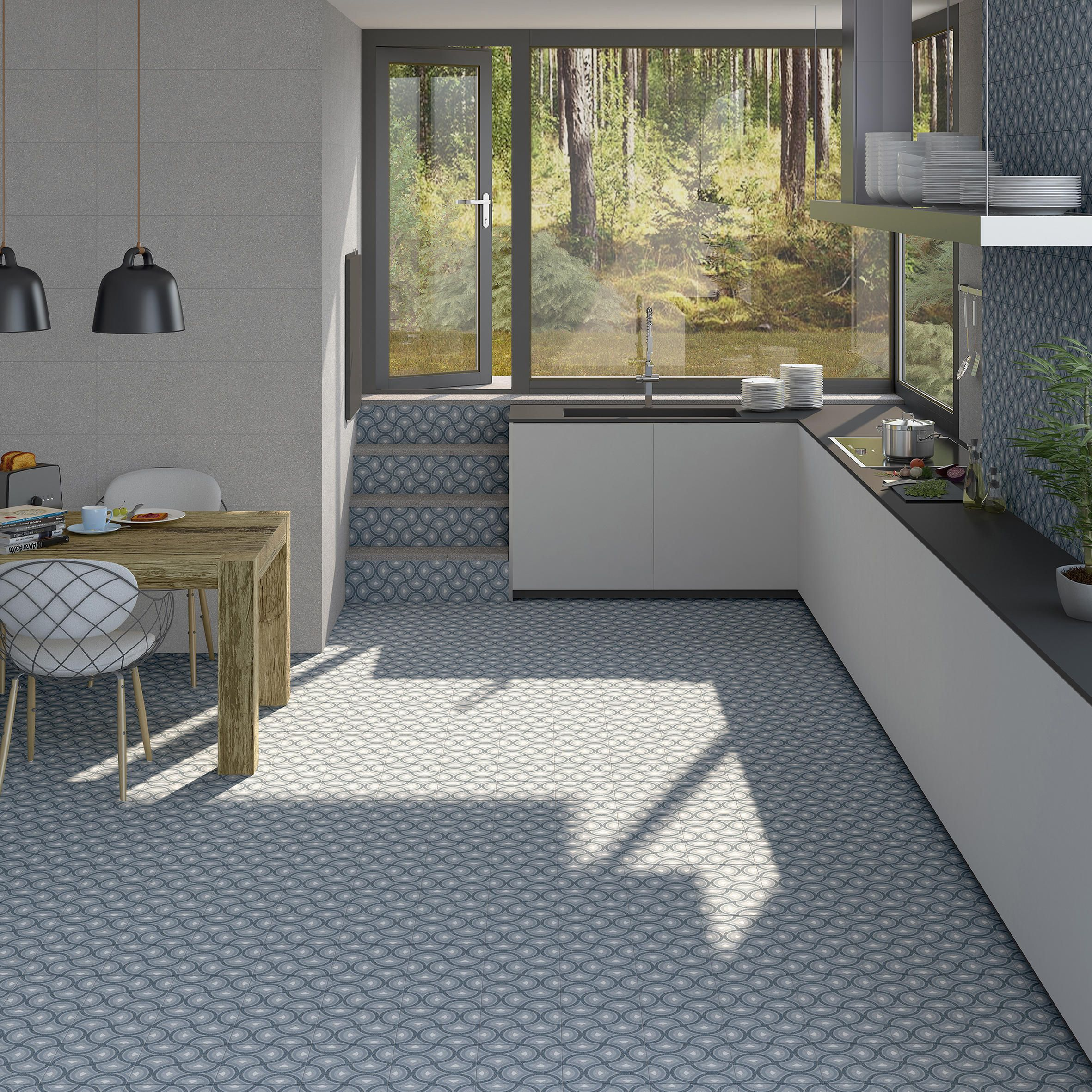 Benaco Pigneto Nube Designer Floor Tiles From Vives Ceramica