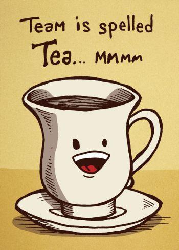 A cuppa teammmmworrrrkkkkk #cuppatea
