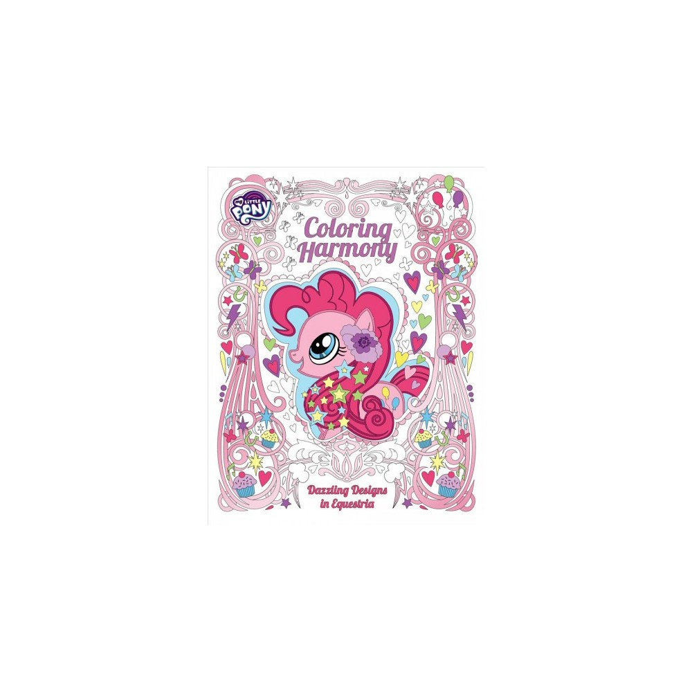 My Little Pony Adult Coloring Book Dazzling Designs From Equestria Paperback
